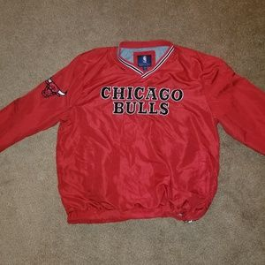 Other - Chicago Bulls zip up pullover